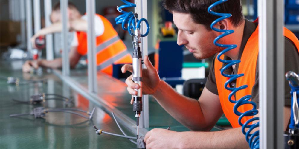 ERP-System_diskrete Fertigung_Serienfertigung_Einzelfertigung_Herstellung_Produktionsprozess